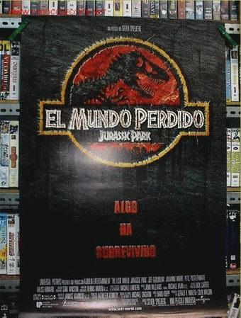 JURASSK PARK EL MUNDO PERDIDO (Cine - Posters y Carteles - Ciencia Ficción)