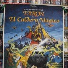 Cine: TARON Y EL CALDERO MAGICO. Lote 144834446