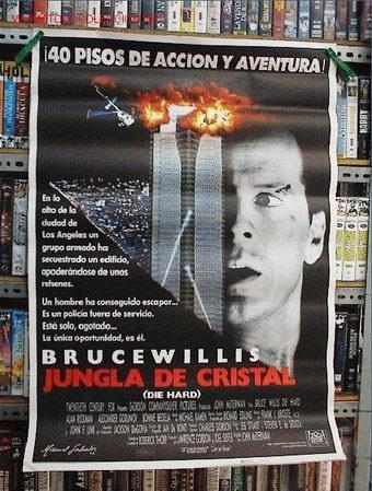 LA JUNGLA DE CRISTAL (Cine - Posters y Carteles - Aventura)