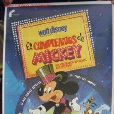 Cine: EL CUMPLEAÑOS DE MICKEY, WALT DISNEY. Lote 8006607