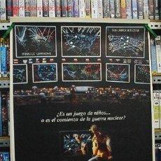 Cinema: JUEGOS DE GUERRA. Lote 37670744