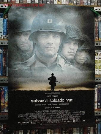 SALVAR AL SOLDADO RYAN (Cine - Posters y Carteles - Bélicas)