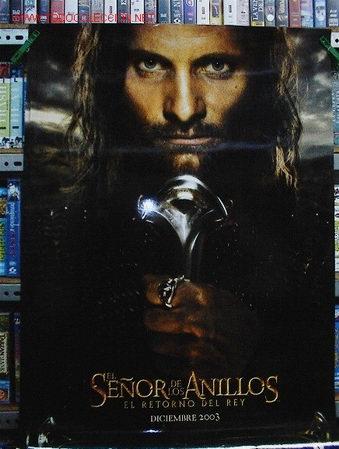 EL SEÑOR DE LOS ANILLOS. EL RETORNO DL REY (Cine - Posters y Carteles - Aventura)