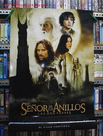 EL SEÑOR DE LOS ANILLOS. LAS DOS TORRES (Cine - Posters y Carteles - Aventura)