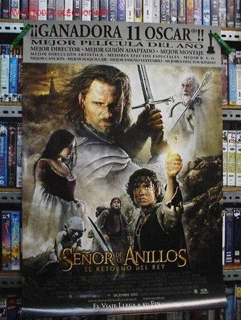 EL SEÑOR DE LOS ANILLOS. EL RETORNO DEL REY (Cine - Posters y Carteles - Aventura)