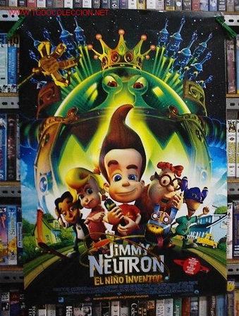 JIMMY NEUTRON (Cine - Posters y Carteles - Infantil)