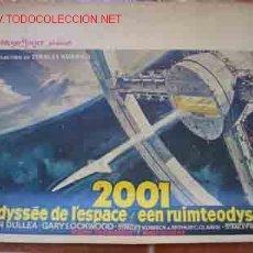 Cine: CARTEL CINE: 2001 L'ODYSSÉE DE L'ESPACE / EEN RUIMTEODYSSEE (ODISEA EN EL ESPACIO). Lote 22364048