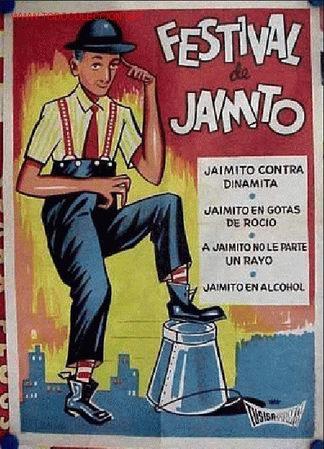 CARTEL FESTIVAL DE JAIMITO, AÑO 1964 - CARTEL LITOGRAFICO (Cine - Posters y Carteles - Comedia)