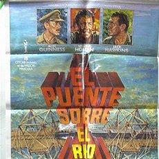 Cine: EL PUENTE SOBRE EL RIO KWAI. Lote 82935283