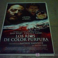 Cine: LOS RIOS DE COLOR PURPURA POSTER ORIGINAL 70X100. Lote 5532004
