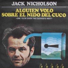 Cinéma: ALGUIEN VOLÓ SOBRE EL NIDO DEL CUCO - POSTER CARTEL ORIGINAL - JACK NICHOLSON SIN DOBLAR. Lote 3236283