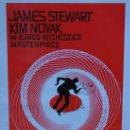 Cine: VERTIGO - DE ENTRE LOS MUERTOS - ALFRED HITCHCOCK - JAMES STEWART - KIM NOVAK SAUL BASS. Lote 159775854