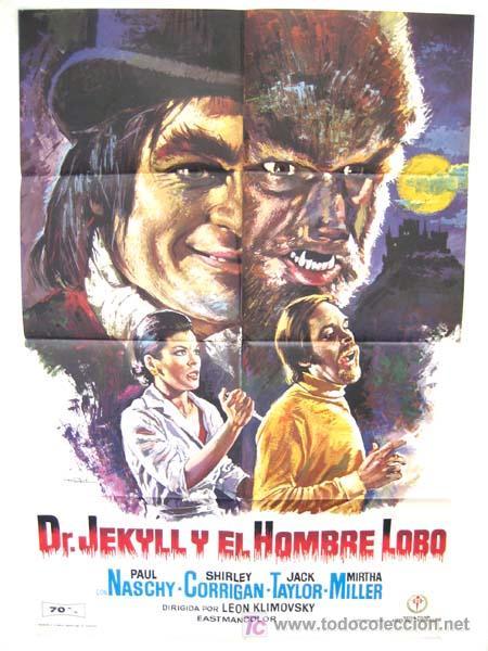 CARTEL CINE DR. JEKYLL Y EL HOMBRE LOBO , TERROR 1972 ILUSTRADO POR MAC (Cine - Posters y Carteles - Terror)
