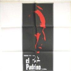 Cine: CARTEL CINE EL PADRINO 1 , EL PRIMERO. MARLON BRANDO , ORIGINAL. Lote 105164763