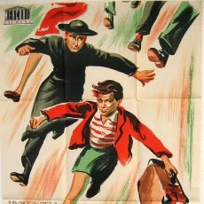 Cine: CARTEL CINE PROHIBIDO ROBAR , AÑOS 50, LITOGRAFIA. Lote 19525636
