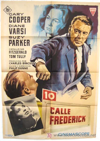 CARTEL CINE CALLE FREDERICK 1964 GARY COOPER (Cine - Posters y Carteles - Westerns)
