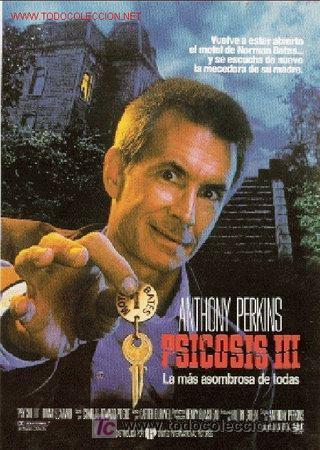 PSICOSIS 3 POSTER ORIGINAL 70X100 (Cine - Posters y Carteles - Terror)