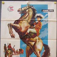 Cine: T00047 EL PEQUEÑO CORONEL JOSELITO POSTER ORIGINAL ESTRENO 70X100. Lote 12684557