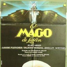 Cine: T00133 EL MAGO DE LUBLIN ALAN ARKIN VALERIE PERRINE POSTER ORIGINAL ESTRENO 70X100. Lote 3808878