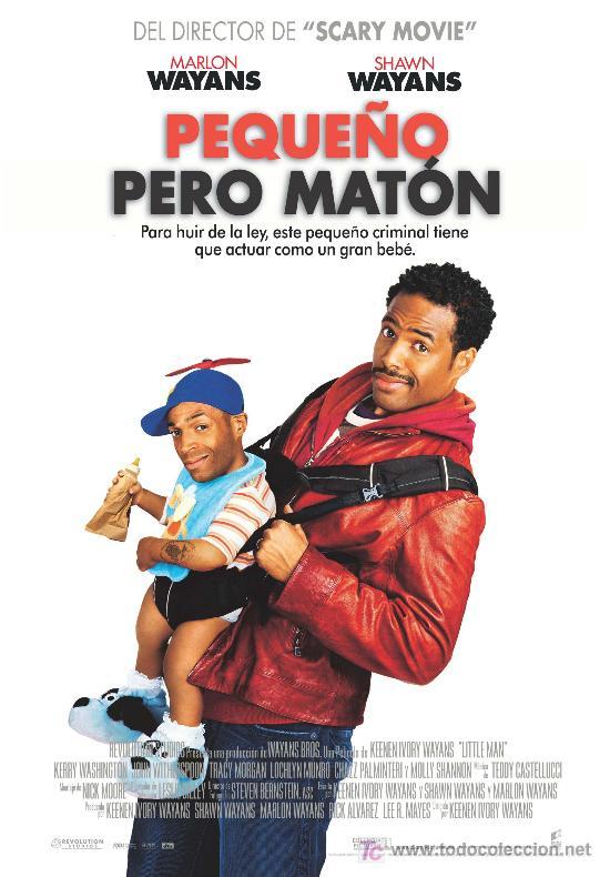 'PEQUEÑO PERO MATÓN'. COMEDIA. (Cine - Posters y Carteles - Comedia)
