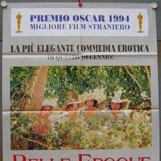 Cine: T00302 BELLE EPOQUE FERNANDO TRUEBA POSTER ORIGINAL ITALIANO 100X140. Lote 4983853