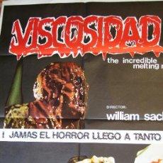 Cine: VISCOSIDAD. DE CINE DE TERROR, 1980. Lote 27125250