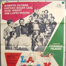 Cine: T00559 LA GRAN FAMILIA ALBERTO CLOSAS JOSE ISBERT POSTER DE MAC ORIGINAL 70X100 DEL ESTRENO. Lote 12963867
