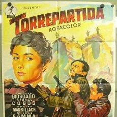 Cine: T00606 TORREPARTIDA PEDRO LAZAGA GUERRA CIVIL SOLIGO POSTER ORIGINAL 70X100 ESTRENO LITOGRAFIA. Lote 21911070