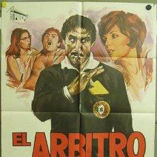 Cine: T00672 EL ARBITRO LANDO BUZZANCA FUTBOL POSTER ORIGINAL 70X100 DEL ESTRENO. Lote 3983534