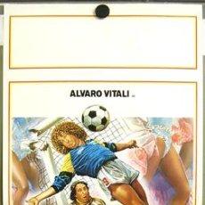 Cine: T00679 PAULO ROBERTO ALVARO VITALI FUTBOL POSTER ORIGINAL ITALIANO 33X70. Lote 3983659