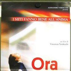 Cine: T00685 FUTBOL ORA E PER SEMPRE POSTER ORIGINAL ITALIANO 33X70. Lote 3983716