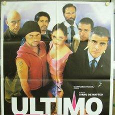 Cine: T00693 ULTIMO STADIO FUTBOL POSTER ORIGINAL ITALIANO 100X140. Lote 3986269