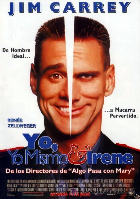 'YO, YO MISMO E IRENE', CON JIM CARREY. (Cine - Posters y Carteles - Comedia)