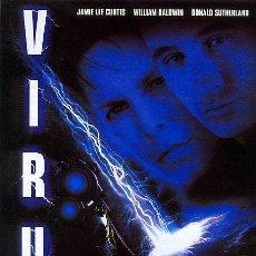 Cine: 'VIRUS', CON JAMIE LEE CURTIS, WILLIAM BALDWIN Y DONALD SUTHERLAND.. Lote 21220211