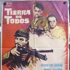 Cine: T00893 TIERRA DE TODOS ANTONIO ISASI AMPARO BARO GUERRA CIVIL POSTER ORIGINAL 70X100 ESTRENO. Lote 13594245