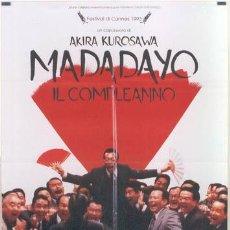 Cine: T00840 MADADAYO AKIRA KUROSAWA POSTER ORIGINAL ITALIANO 100X140. Lote 4005220