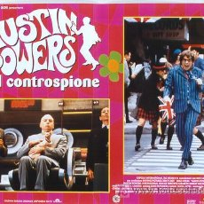 Cine: T00983 AUSTIN POWERS MIKE MYERS SET DE 6 POSTERS ORIGINAL ITALIANO 47X68. Lote 4005233
