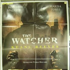 Cine: T01002 THE WATCHER JUEGO ASESINO KEANU REEVES POSTER ORIGINAL ITALIANO 100X140. Lote 4005383