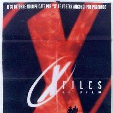 Cine: T01013 X FILES EXPEDIENTE X DUCHOVNY ANDERSON POSTER ORIGINAL ITALIANO 100X140. Lote 4009640