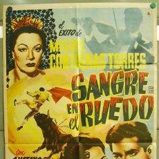 Cine: T01032 BAJO EL CIELO DE ESPAÑA GUSTAVO ROJO TOROS POSTER ORIGINAL 70X94 MEJICANO. Lote 13094048