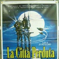 Cine: T01127 LA CIUDAD DE LOS NIÑOS PERDIDOS JEUNET CARO POSTER ORIGINAL 100X140 ITALIANO. Lote 4116927