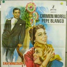 Cine: T01376 MARAVILLA PEPE BLANCO CARMEN MORELL POSTER ORIGINAL 70X100. Lote 6231384