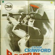 Cine: T01377 EL CASO DE LUCY HARBIN JOAN CRAWFORD WILLIAM CASTLE HERMIDA POSTER ORIGINAL 70X100 ESTRENO. Lote 4187686