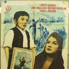 Cine: T01393 SUEÑOS DE HISTORIA LINA ROSALES POSTER ORIGINAL 70X100 DEL ESTRENO. Lote 13158817