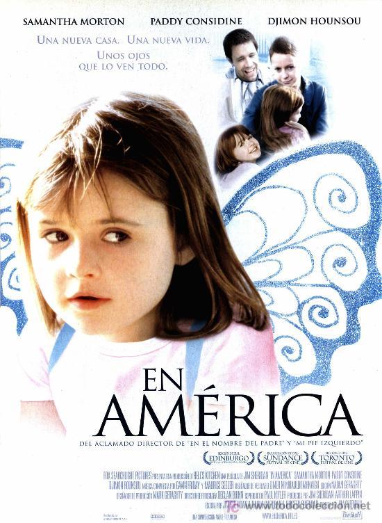 'EN AMÉRICA', DE JIM SHERIDAN. TAMAÑO FOLIO. (Cine- Posters y Carteles - Drama)