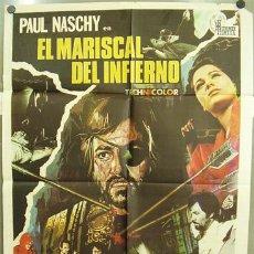 Cine: T01464 EL MARISCAL DEL INFIERNO PAUL NASCHY HERMIDA POSTER ORIGINAL 70X100 ESTRENO. Lote 10843301