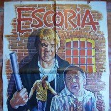 Cine: ESCORIA PELICULA DE 1980. Lote 27170709