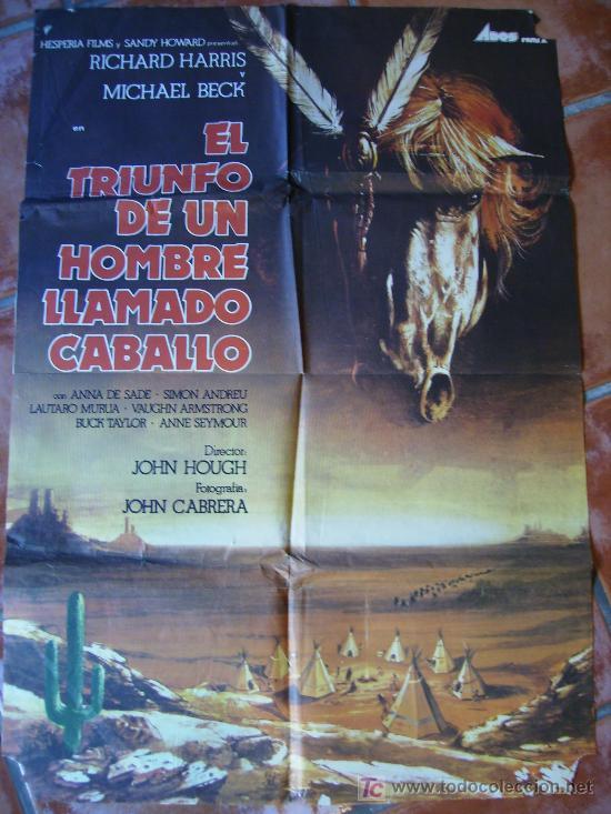 EL TRIUNFO DE UN HOMBRE LLAMADO CABALLO, (Cine - Posters y Carteles - Westerns)