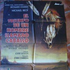 Cine: EL TRIUNFO DE UN HOMBRE LLAMADO CABALLO,. Lote 27125453