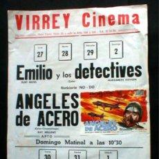 Cine: VIRREY CINEMA. ANTIGUO. MUY ORIGINAL... ENVIO GRATIS¡¡¡. Lote 11815238